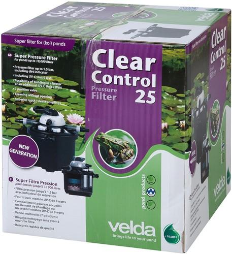Velda Clear Control 25 drukfilter set
