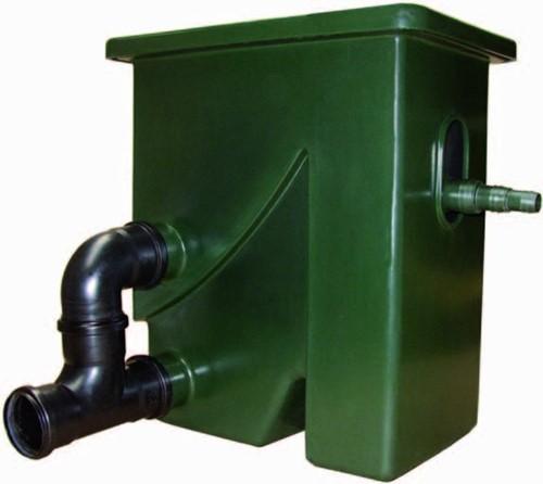 Aquaforte Compactsieve 2 pompgevoed zeefbochtfilter - groen