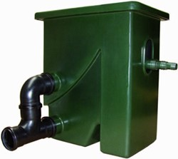 Aquaforte Compactsieve 2 pompgevoed zeefbochtfilter lege behuizing