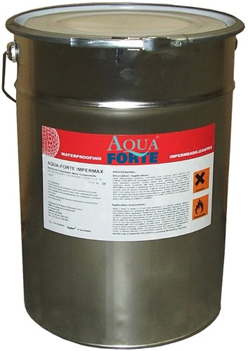 AquaForte Impermax vloeibare vijverfolie - zwart - 10 kilo