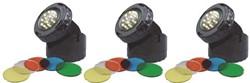 Aquaforte Pond & Garden LED Lampen 1,6W - set van 3