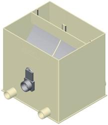 Aquaforte Ultrasieve 3 - UltraSieve 300 met 3 ingangen met deksel