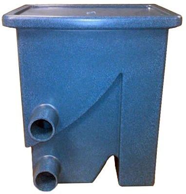 Aquaforte Compactsieve 2 pompgevoed zeefbochtfilter - blauw