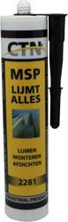 CTN N5 Polymeer Lijm/Kit Zwart