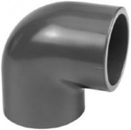 Eco-Line PVC Knie 90 Graden - 40 mm