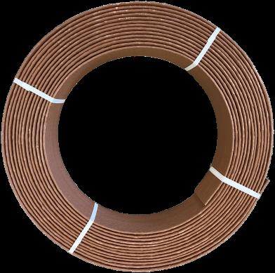 Ekoboard randafwerking 14 cm x 25 meter - cortenstaal