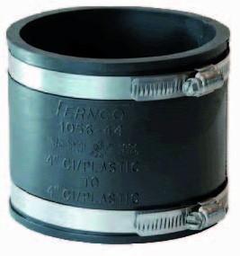 Fernco Flexibele koppeling - 98 tot 115 mm