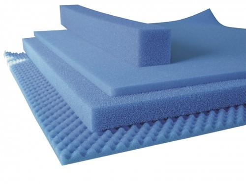 Filter Foam 50x50x5 cm - Fijn