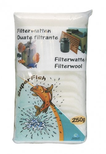 Filterwatten 250 gram wit (fijn)