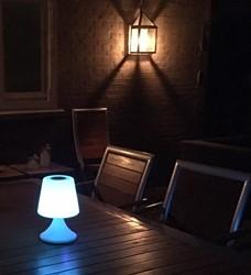 LED verlichting candle 15 cm met speaker