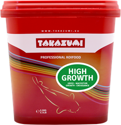Takazumi Professional Koi Food - High Growth 1000 gr