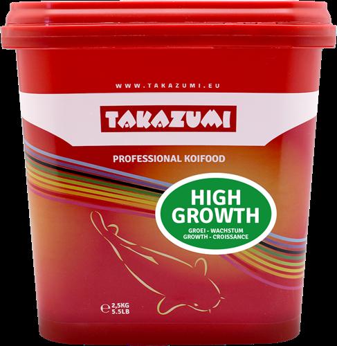Takazumi Professional Koi Food - High Growth 2500 gr
