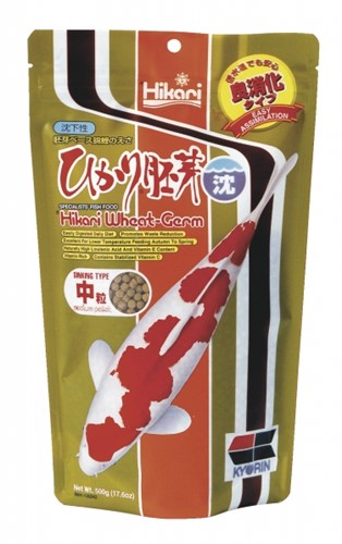 Hikari Wheat Germ Sinking Medium 500 gr