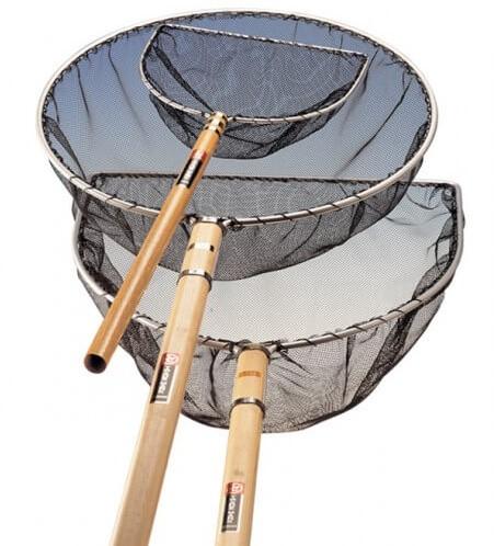 Japans Net Rond 35 cm - steel 60 cm