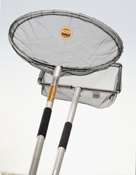 Koi Pro Alu Koinet 80 cm met steel 300 cm