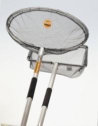 Koi Pro Alu Koinet 60 cm met steel 250 cm