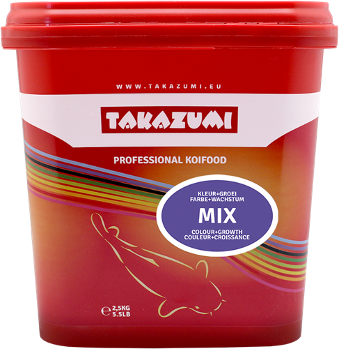 Takazumi Professional Koi food - mix 4500 gr