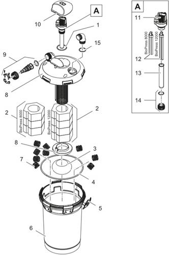 OASE Onderdelen BioPress 8000/12000