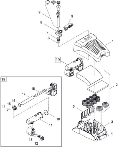 OASE Onderdelen Filtral UVC 5000