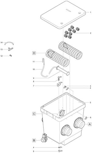 OASE Onderdelen ProfiClear Premium Moving Bed module