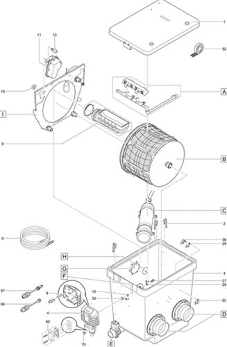 OASE Onderdelen ProfiClear Premium trommelfilter gepompt