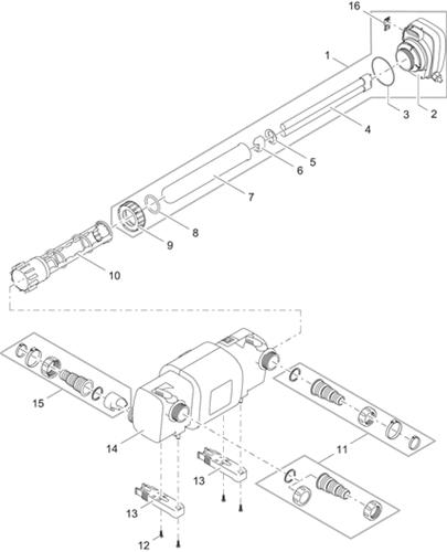 OASE Onderdelen Bitron C 24-36-55-72-110 W