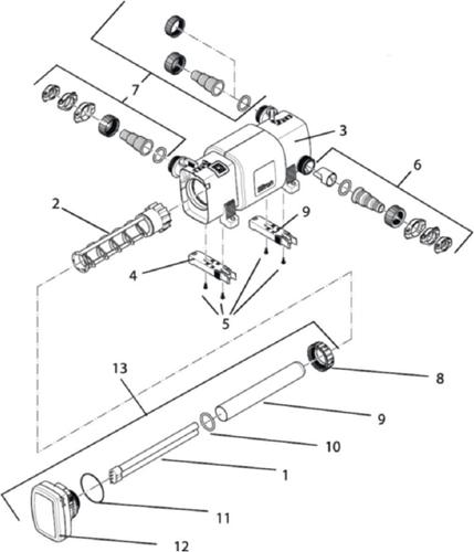 OASE Onderdelen Bitron C 24-36-55 W (van voor 2014)