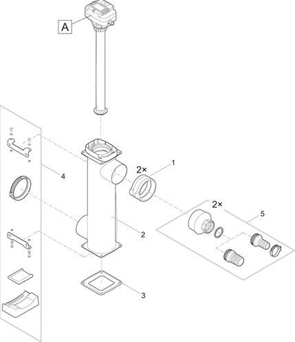 OASE Onderdelen Bitron Gravity 55 W