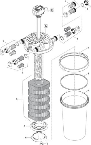 OASE Onderdelen FiltoClear 12000-30000