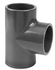 PVC T Stuk 90 Graden - 75 mm