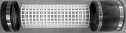 Rasterbuis 100 mm t.b.v. bewegend bed - alleen rasterbuis