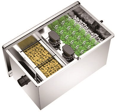 RP Biofilter 20000 liter incl. UV
