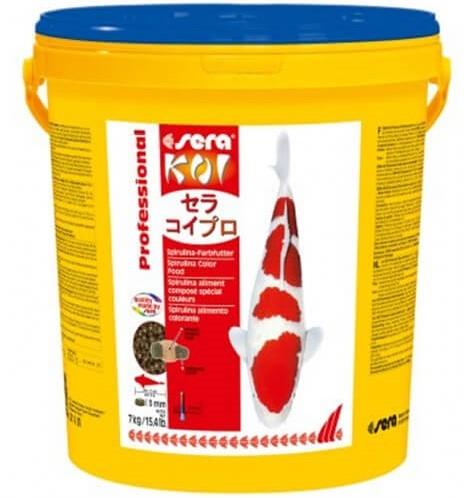 Sera Koi Professional - Spirulina kleurvoer - 7kg