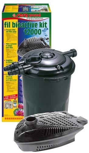 Sera Pond Fil Bioactive drukfilter Sera Pond fil bioactive drukfilter set 12000