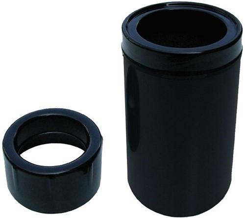 Aquaforte drijvende skimmer zwart