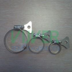 Slangklem RVS + Vleugel 21 - 38 mm