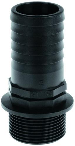 Slangtule met buitendraad - 1 inch x 32 mm
