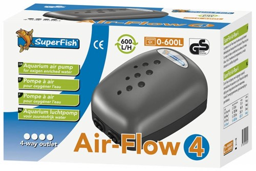 Superfish Pond Air Kit 4 luchtpomp