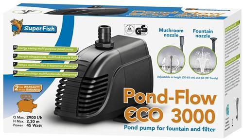 Superfish Pond Flow Eco 3000
