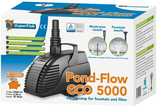 Superfish Pond Flow Eco 5000