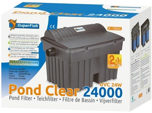 Superfish PondClear 24000 vijverfilterpakket