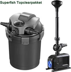 Superfish Topclear 15000 drukfilterpakket