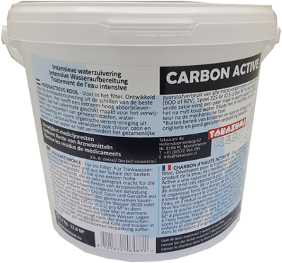 Takazumi CarbonActive 1,125 KG