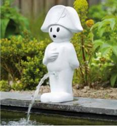 Waterornament BOY 45,5 cm - wit