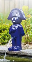 Ubbink - Spuitfiguur Boy Napoleon klein / blauw