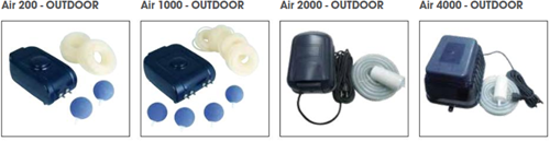 Ubbink Luchtpomp AIR 1000 Outdoor