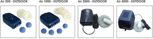 Ubbink Luchtpomp AIR 200 Outdoor