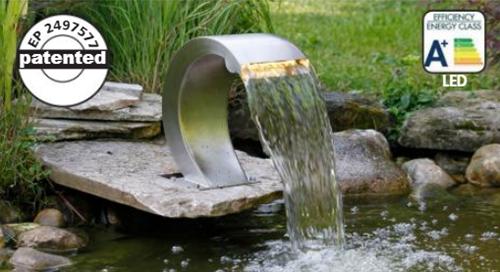 Mamba S LED - RVS waterval