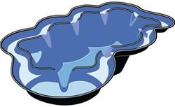 Ubbink Voorgevormde Vijver Neptunus V