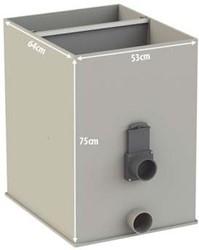 Aquaforte Ultrasieve 3 - 200 met deksel